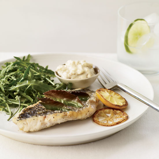 "<h1 itemprop=""name"">Herb-Broiled Fish with Lemon Aioli</h1>"