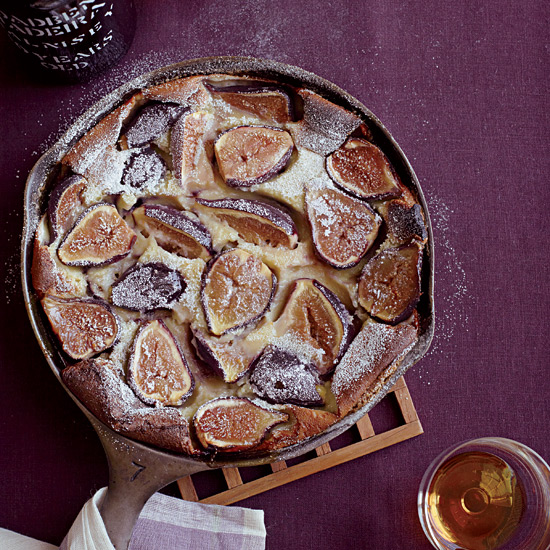 Black Mission Fig Clafoutis