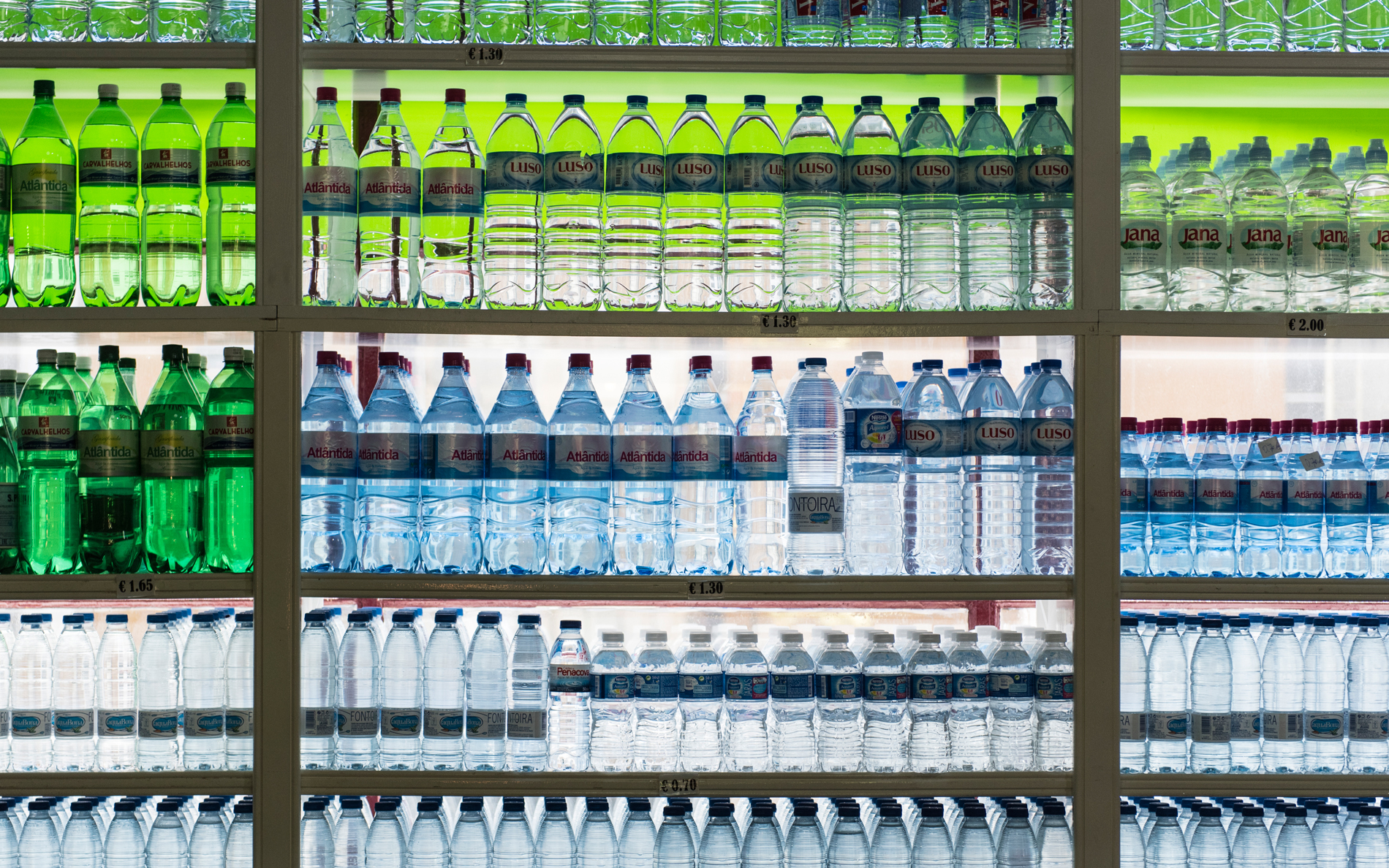 Americans Now Drink More Bottled Water Than Soda