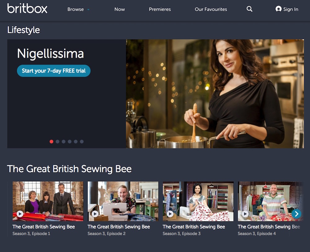 Britbox streams UK shows commercial-free in the United States