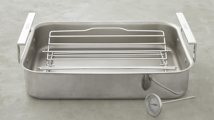Cristel Stainless Steel Roasting Pan