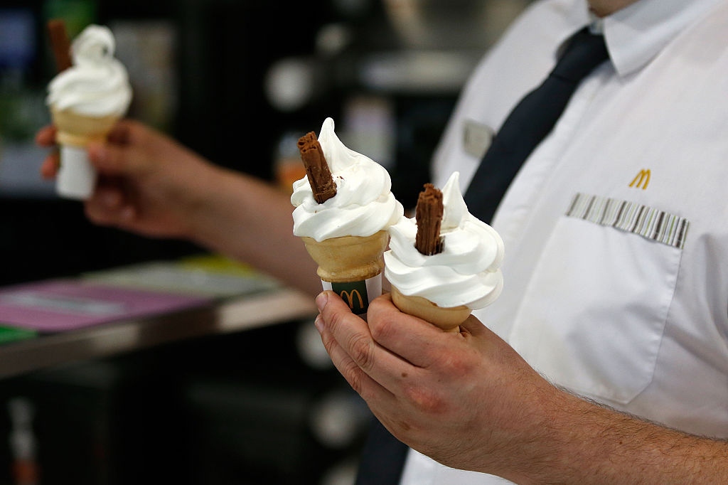 McDonald's Corp. Trials Table Service At U.K. Restaurant