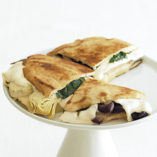 Ham and Artichoke Panini