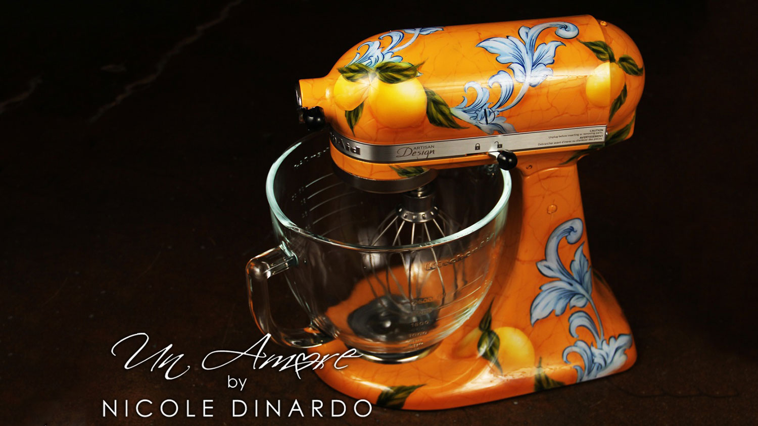 This Artist Will Custom Paint Your Stand Mixer And