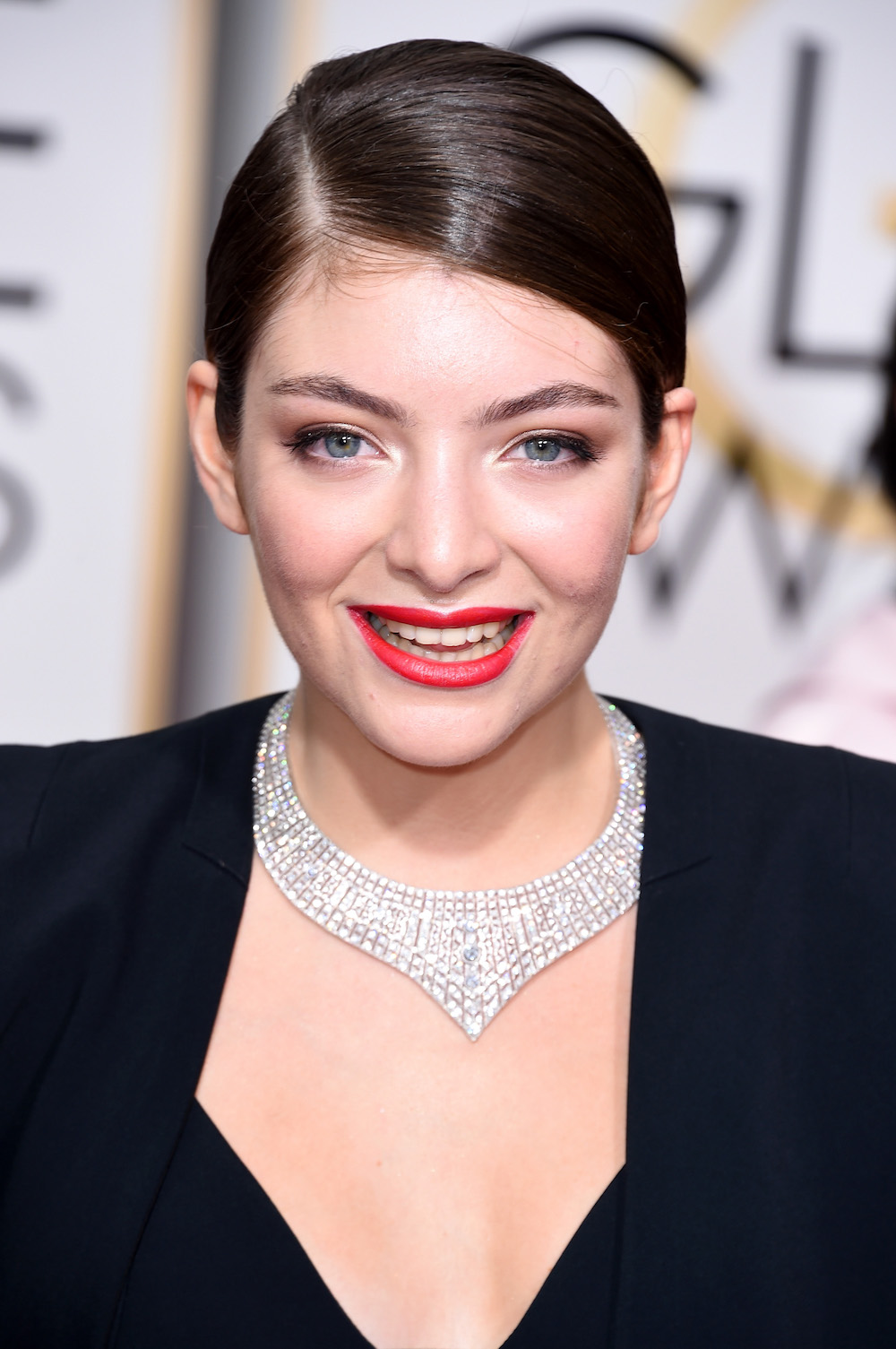 BEVERLY HILLS, CA - JANUARY 11:  Singer Lorde attends the 72nd Annual Golden Globe Awards at The Beverly Hilton Hotel on January 11, 2015 in Beverly Hills, California.  (Photo by Steve Granitz/WireImage)