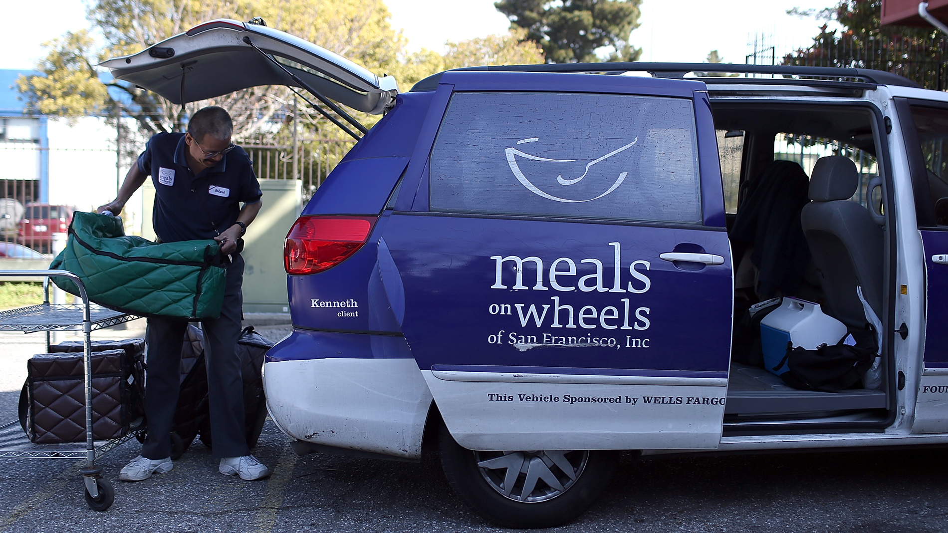President Trump's New Budget Cuts Funding for Meals on Wheels