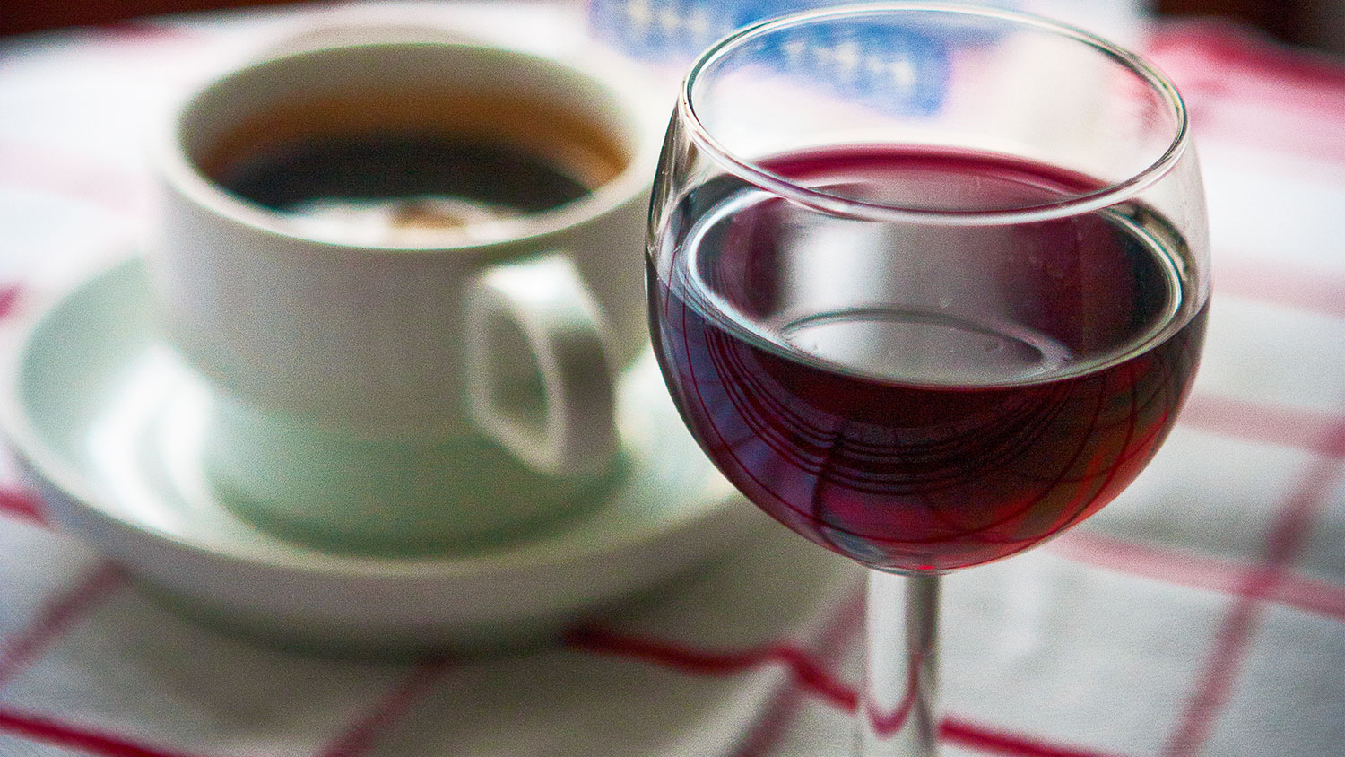 wine infused coffee