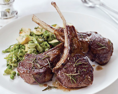 <p>Rosemary Lamb Chops</p>