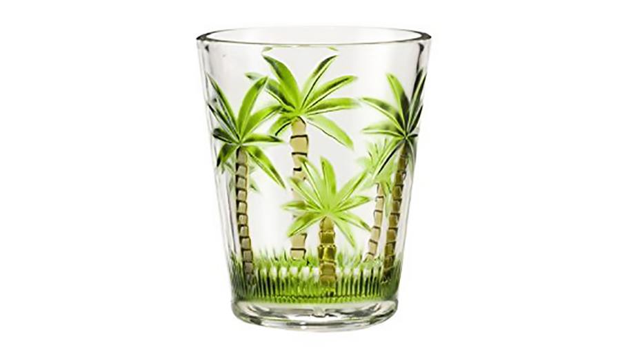 tropical glass