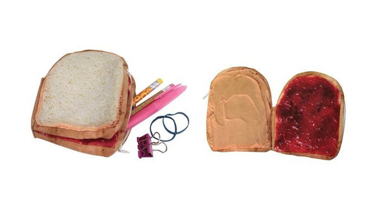 Peanut Butter and Jelly Change Purse
