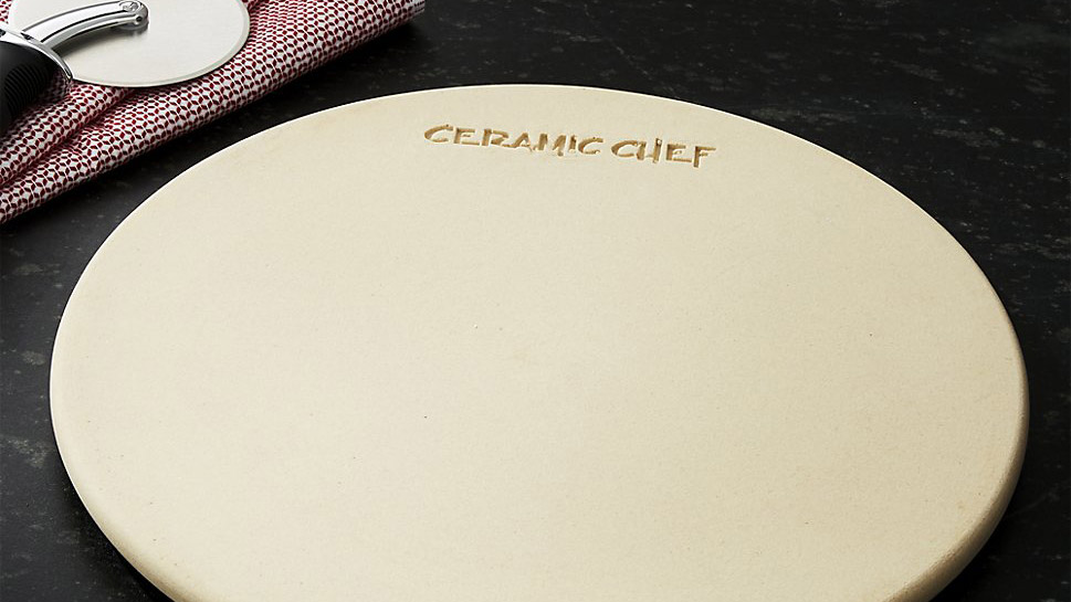 <p>Ceramic Chef Grill Pizza Stone</p>