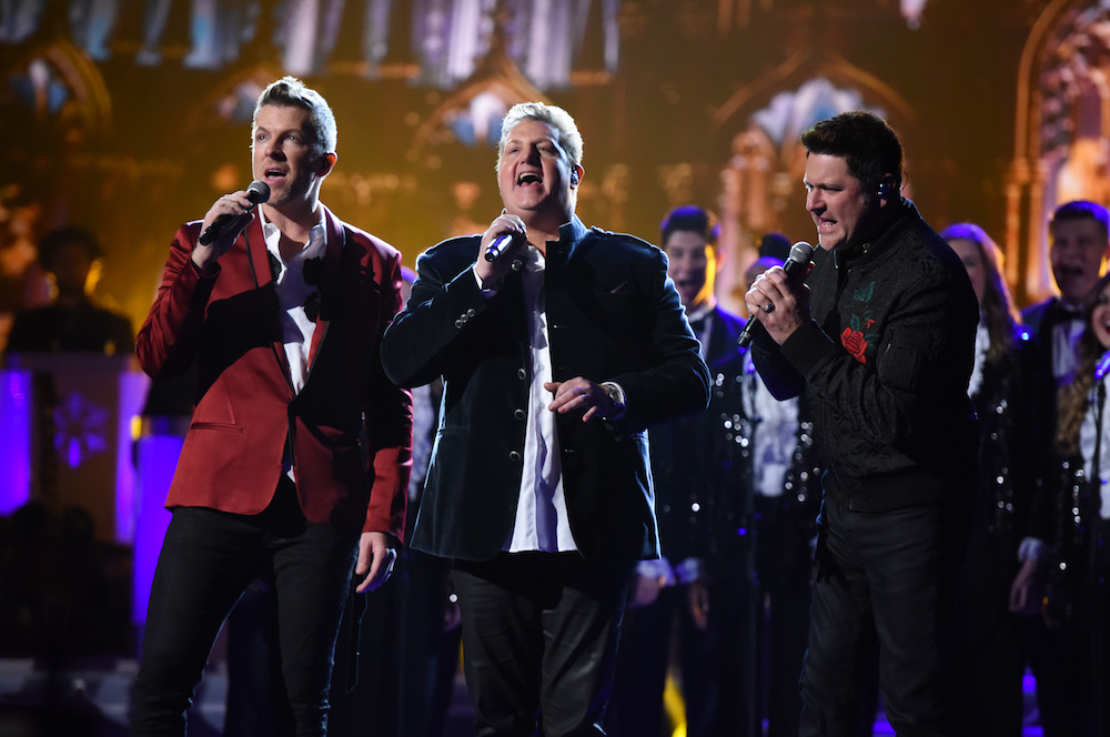 Rascal Flatts perform on stage during the CMA 2016 Country Christmas on November 8, 2016 in Nashville, Tennessee.  (Photo by John Shearer/WireImage)