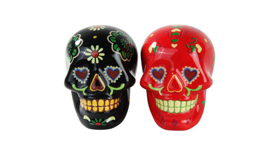 Day of the Dead Salt and Pepper Shakers