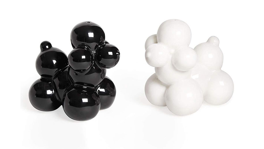 Poodle Salt and Pepper Shakers