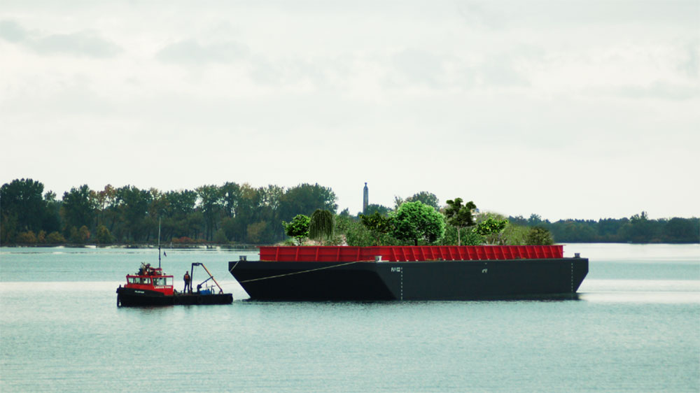 swale ny floating food forest