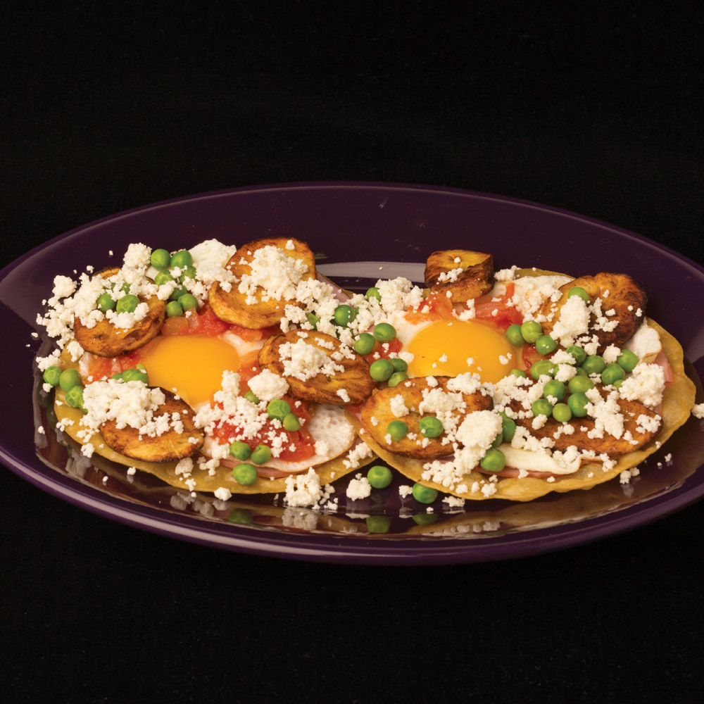 Huevos Motuleños Recipe - Karen Taylor | Food & Wine