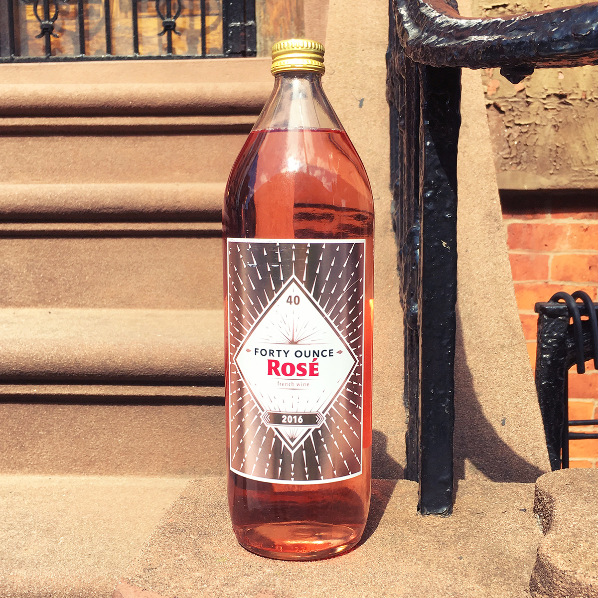 40-Ounce Bottles of Rosé Are the Trend 2017 Has Been Waiting For