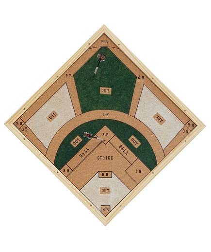 <p>UncommonGoods Baseball Dartboard</p>