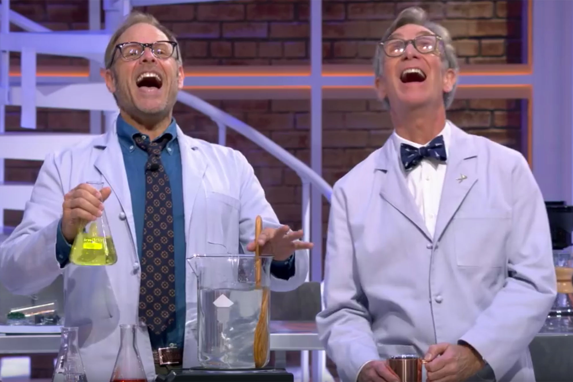 Alton Brown Says He Was 'Deemed Not Smart Enough' to Be a Guest on Bill Nye's Netflix Show