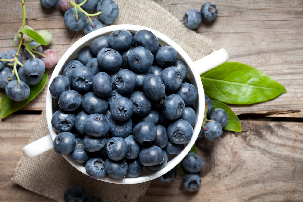 Blueberries have surprising health benefits.