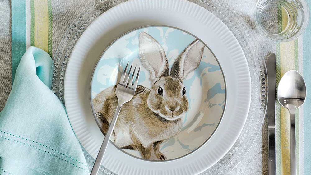 Themed Easter Plates