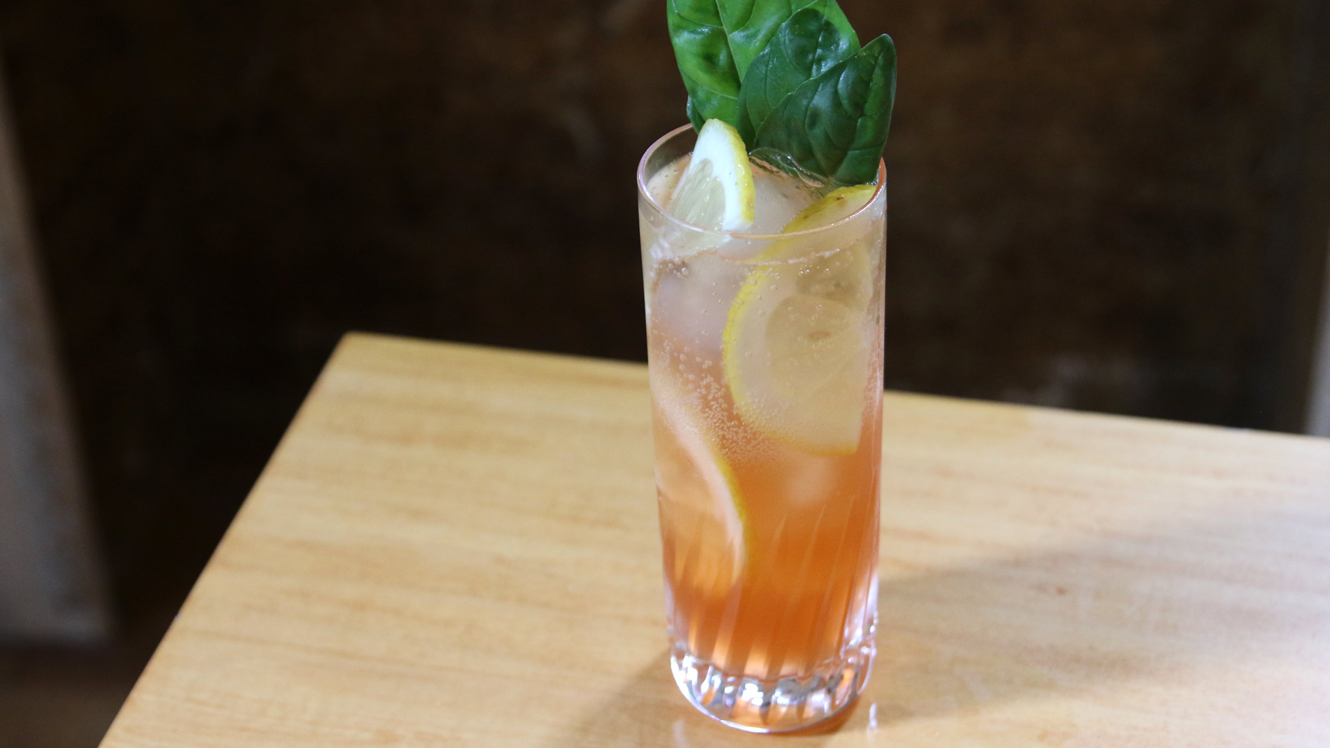 Cappelletti, Gin, and Basil