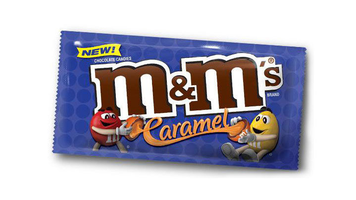 We Tried the New Caramel M&M's