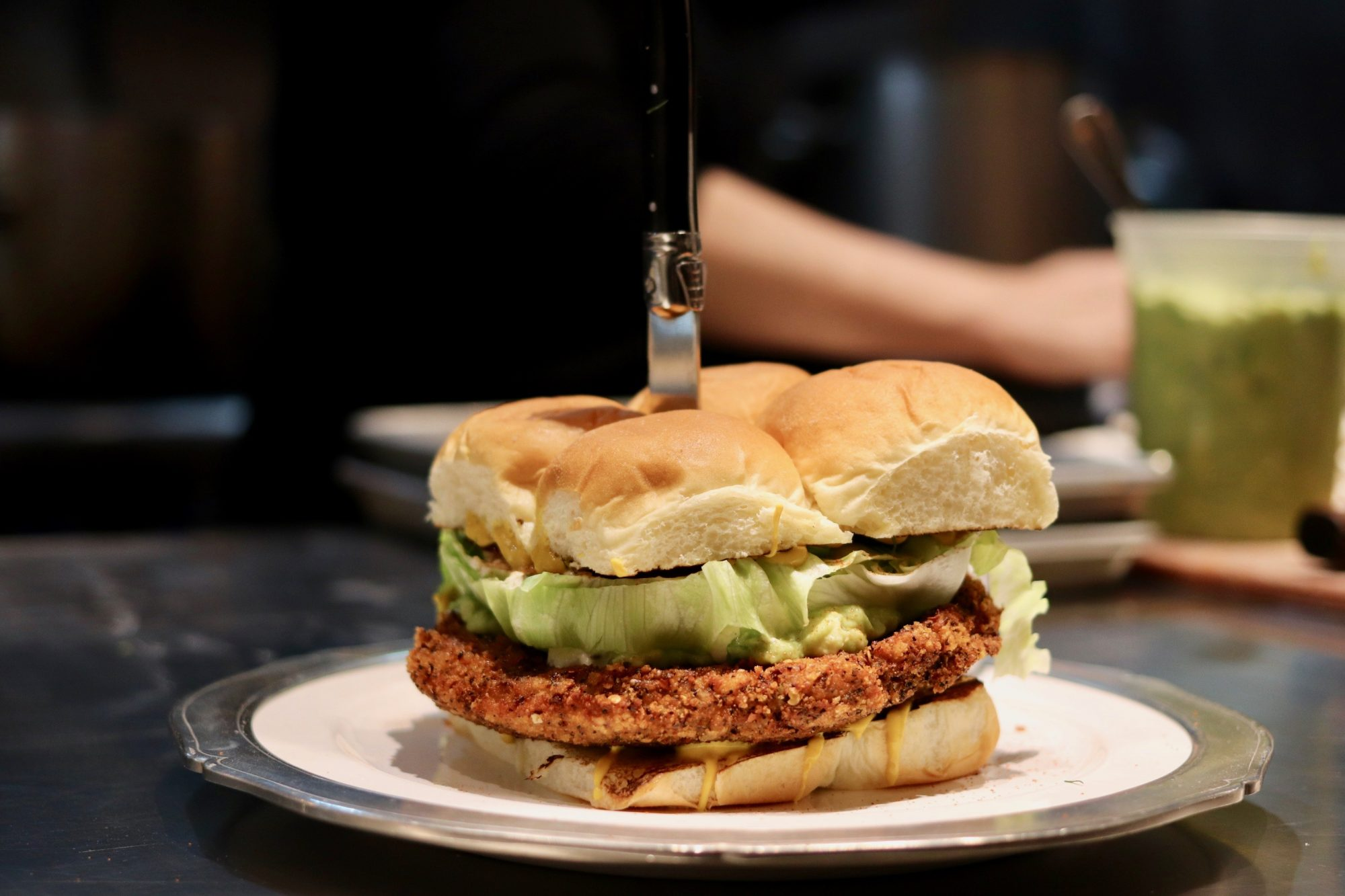 The Giant Fried Chicken Sandwich NYC's Chefs Are Eating