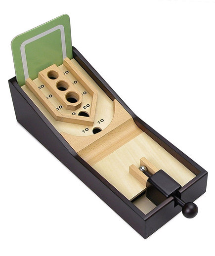 <p>Uncommon Goods Desktop Skee-Ball</p>