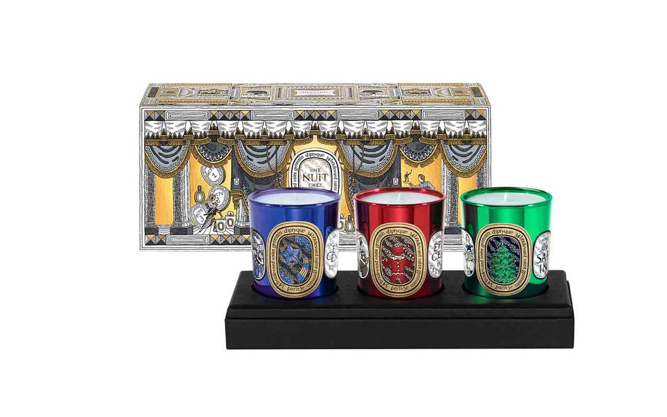 """<h2 data-bind=""""html: title"""">Diptyque Three Mini Holiday Candle Set</h2>"""