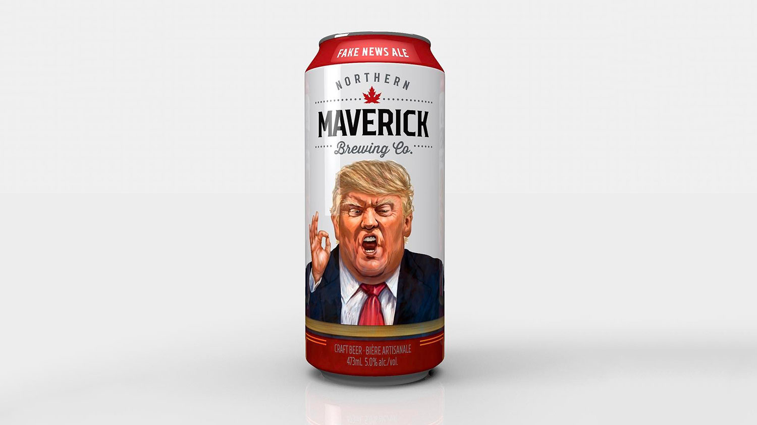 fake news ale northern maverick brewing