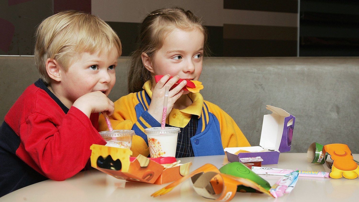 Fast food advertising for kids