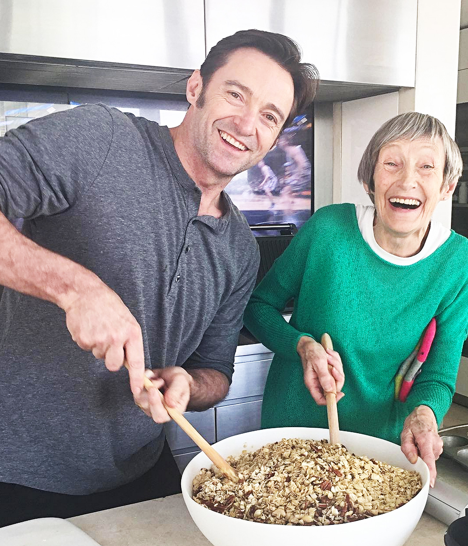 Hugh Jackman Shares His 'Favorite' Recipe from His Mom—Which Includes Her Adorable Nickname for Him