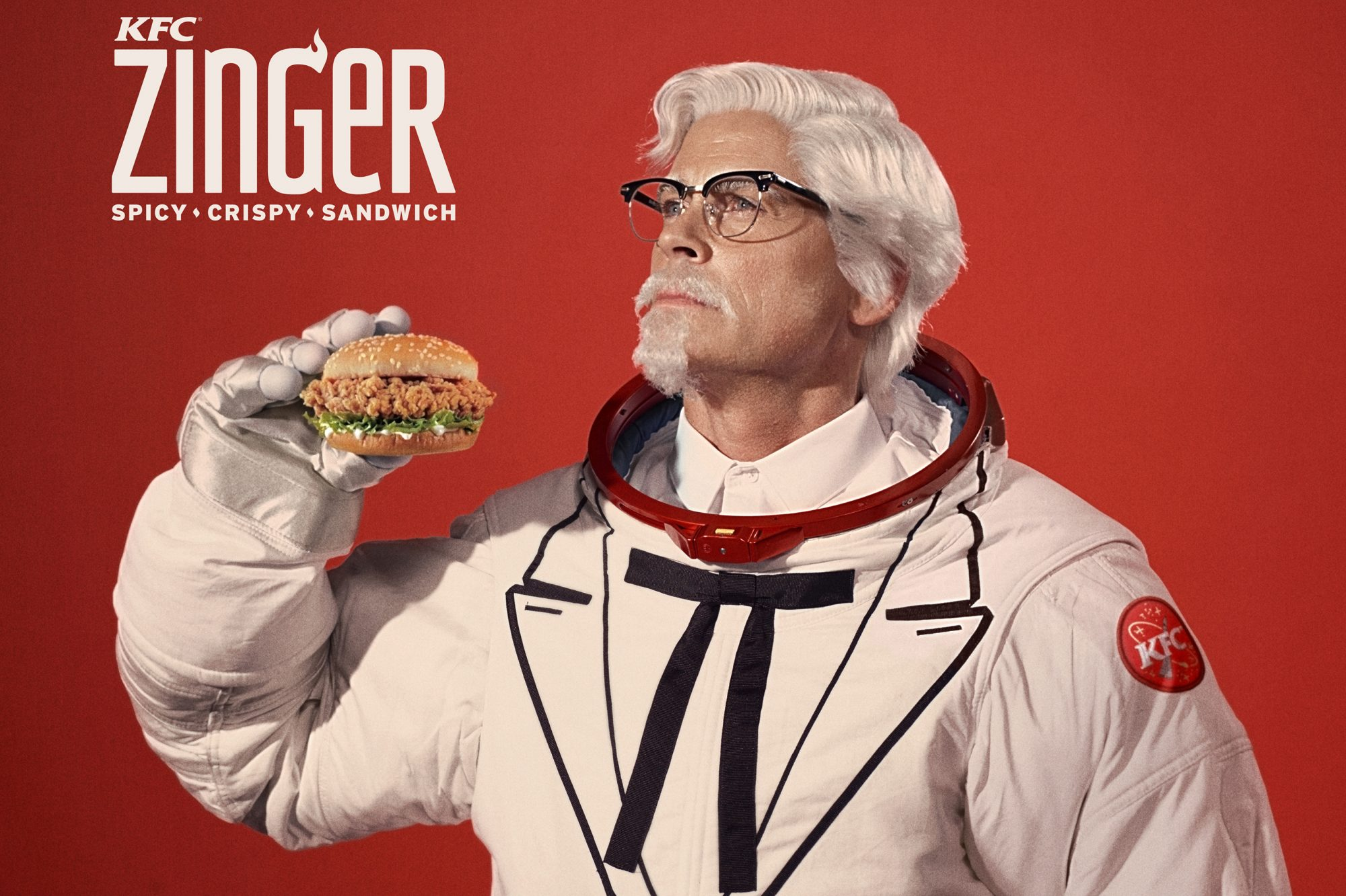 Rob Lowe debuts as KFC's new Colonel Sanders