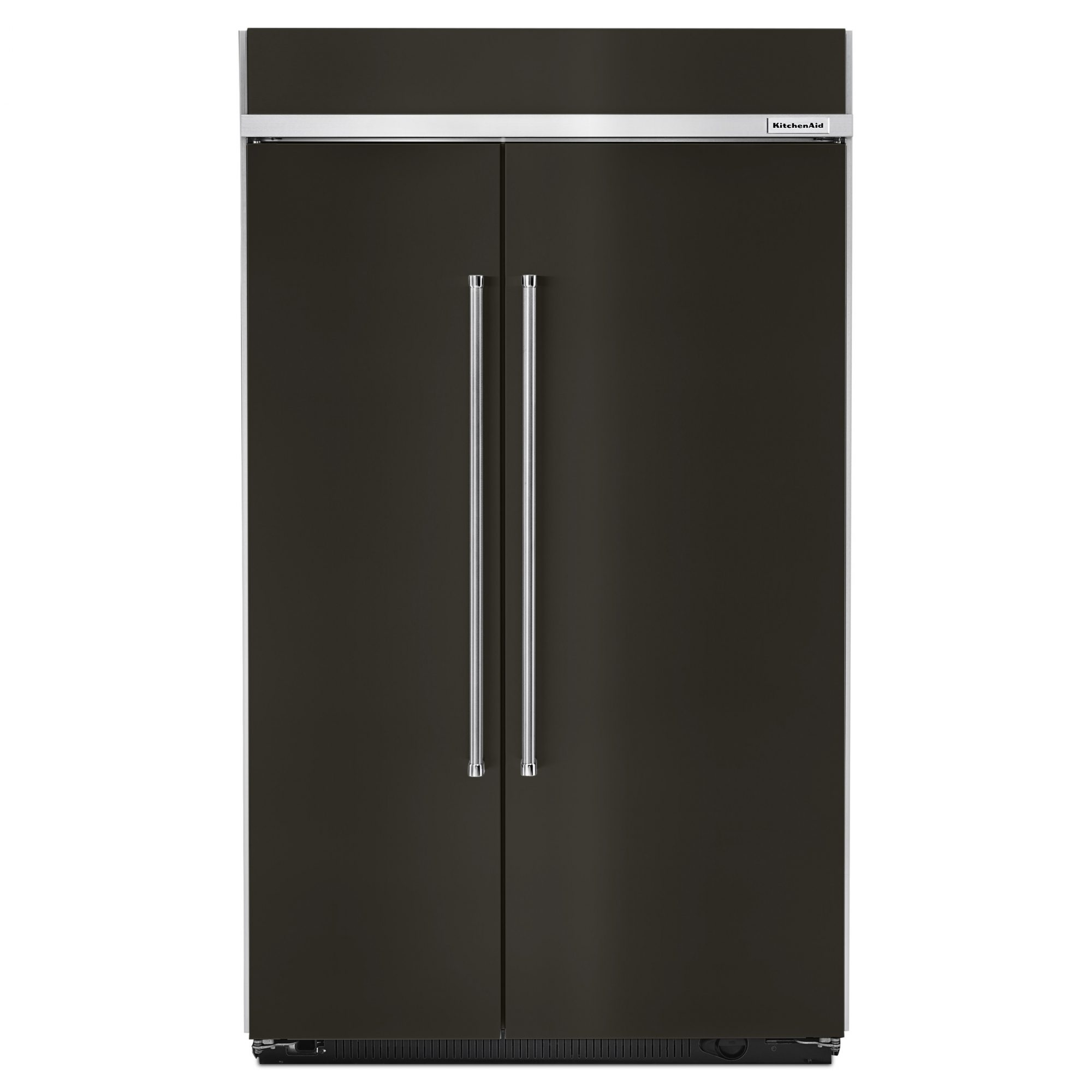 Kitchenaid's matte black refrigerator