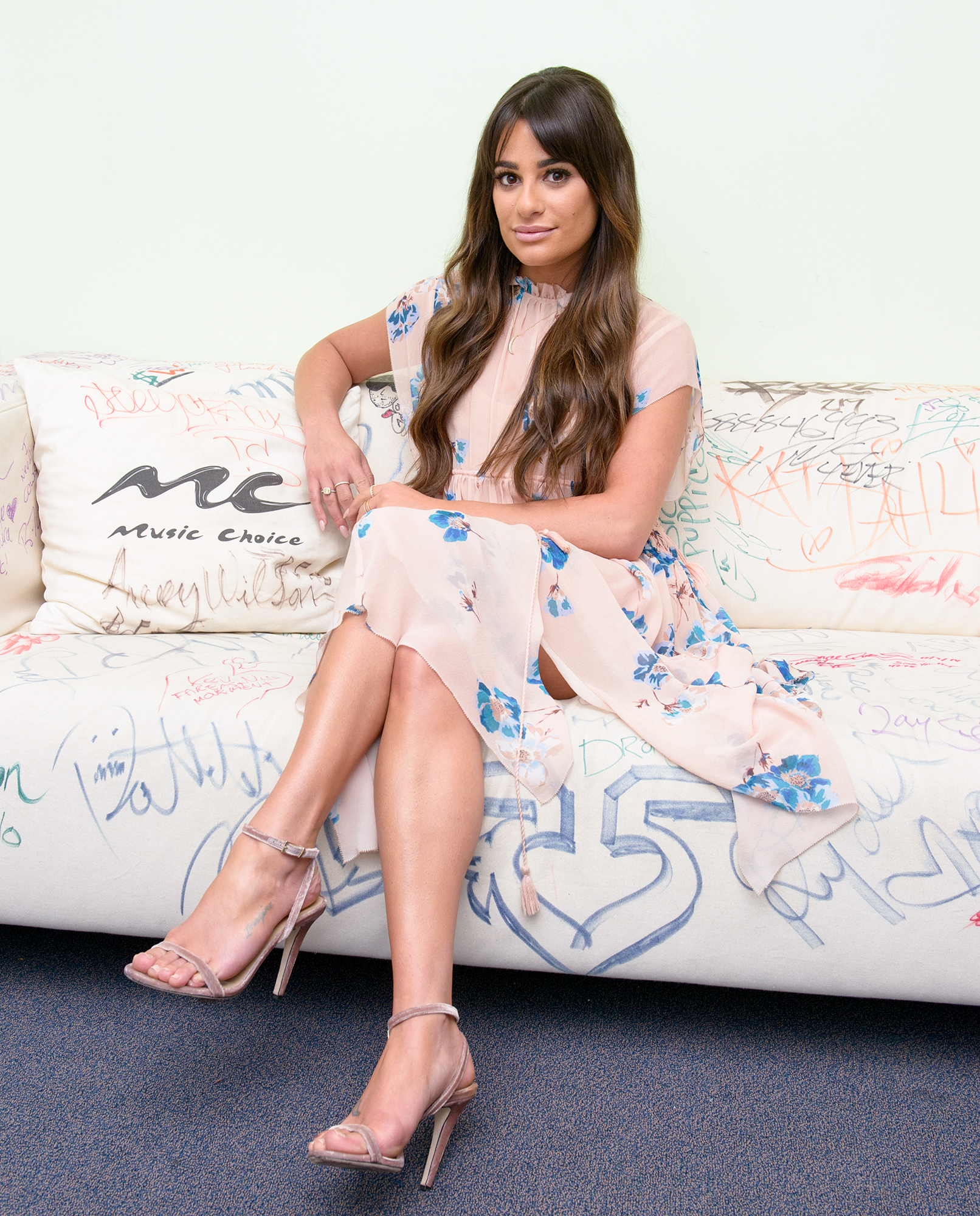 Lea Michele Says She's 'Never Eaten Fast Food,' Won't Drink Soda or Eat Candy