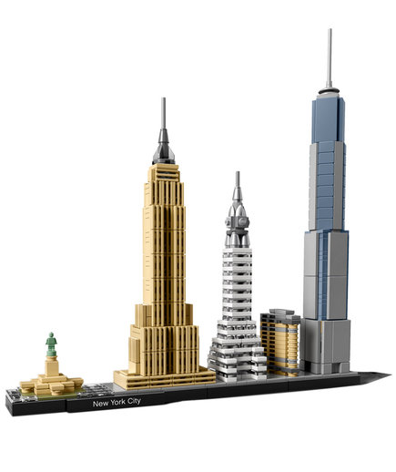 LEGO Architecture Skyline Models
