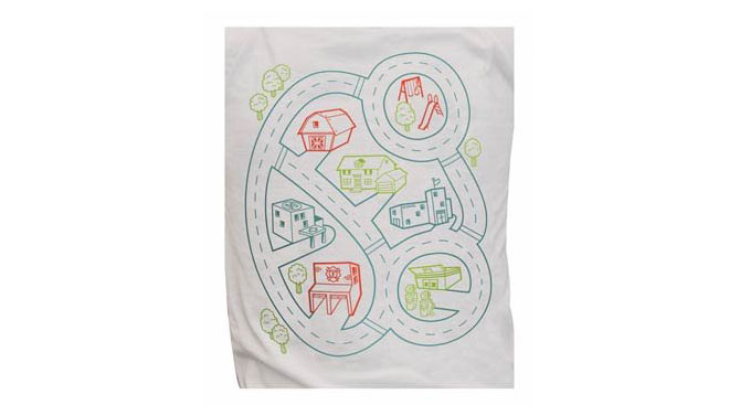 <p>Car Play Mat T-Shirt</p>