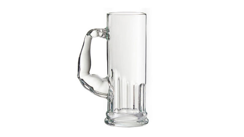 <p>Askew 21-Ounce Muscle Beer Mug by Mercury Row</p>