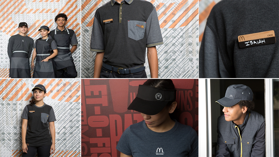 new mcdonalds uniforms
