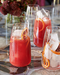 Blood Orange Screwdrivers