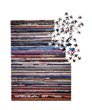 <p>Vinyl Collection Puzzle</p>