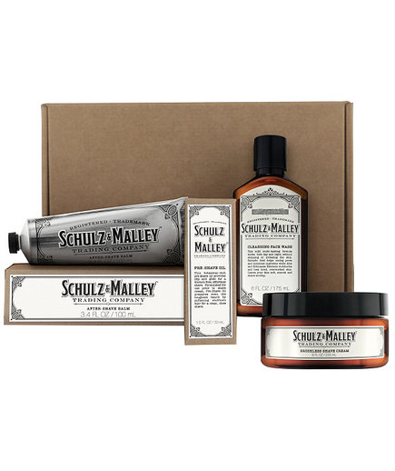 <p>Schulz & Malley Gentlemen's Daily Routine Grooming Kit</p>