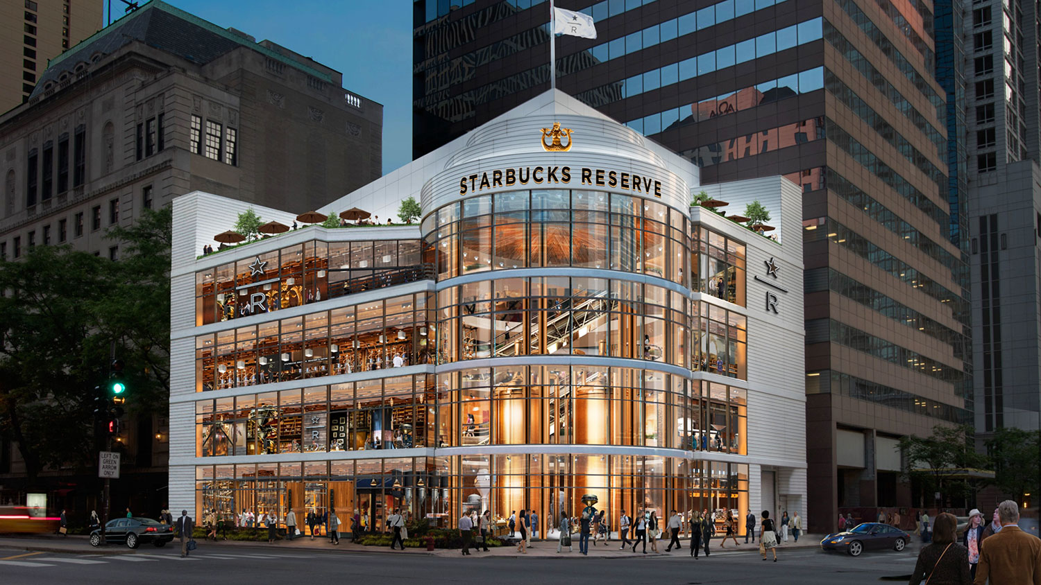 This Gigantic, 4-Story Starbucks Is Coming to Chicago