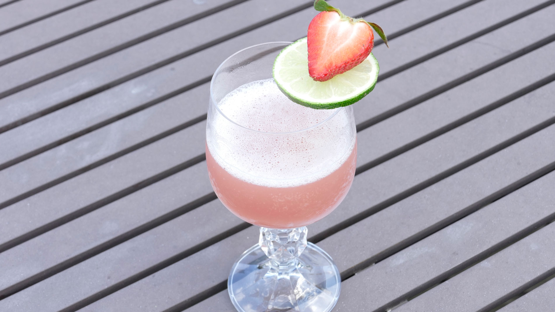 Strawberry Gimlet