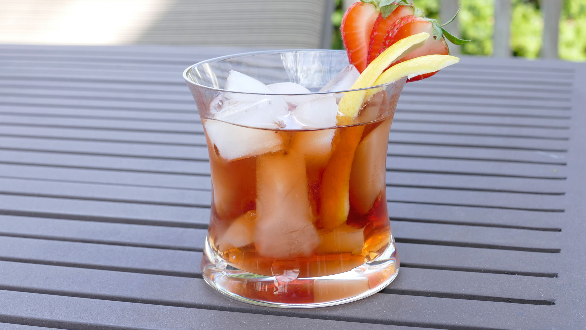 Strawberry Old Fashioned