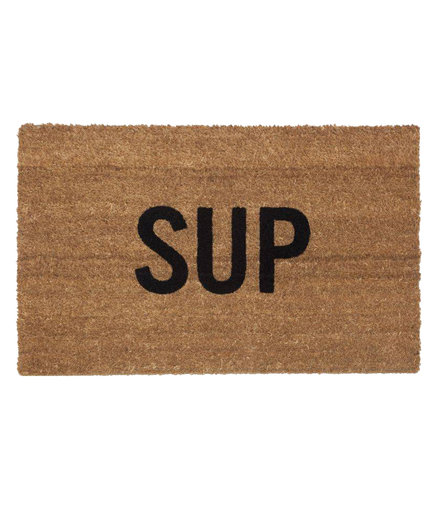 <p>Reed Wilson Design 'Sup' Doormat</p>