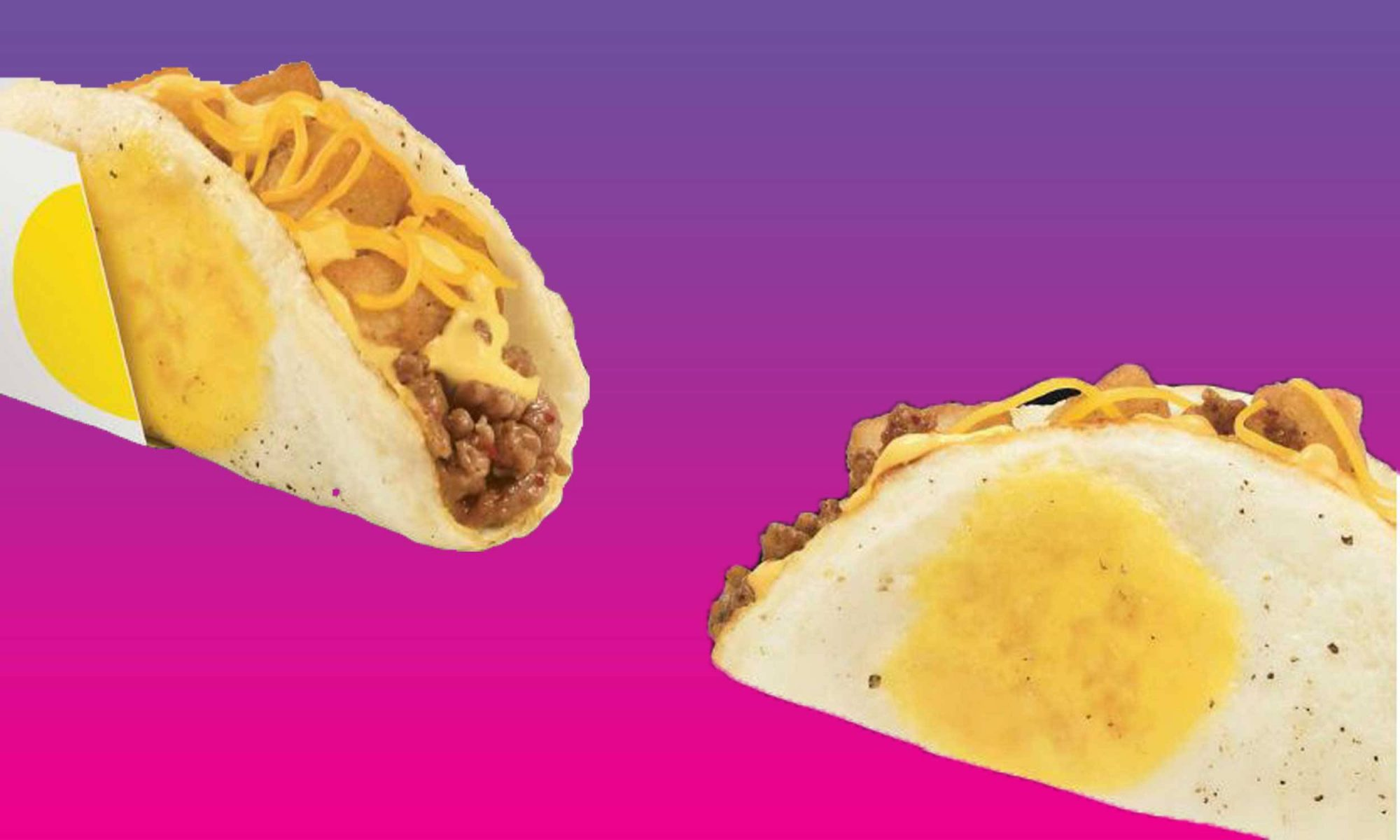 Taco Bell's New Breakfast Taco Is Naked AF