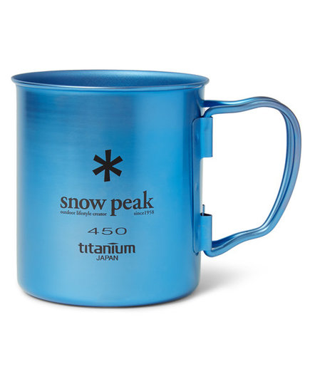 <p>Snow Peak Single-Wall Titanium Mug</p>