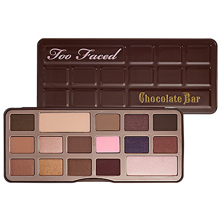 Chocolate lovers will love these makeup palettes